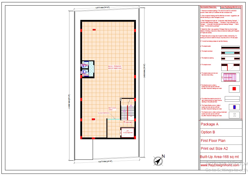 Mr.Abhishek Singh-Indranagar Lucknow UP-Commercial Complex-First Floor Plan