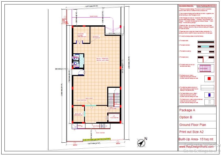Mr.Abhishek Singh-Indranagar Lucknow UP-Commercial Complex-Ground Floor Plan