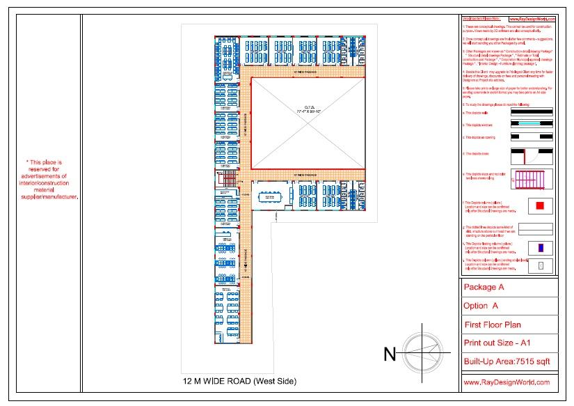 Mr. Ajay Kumar- Indarpur U.P-School- First Floor Plan