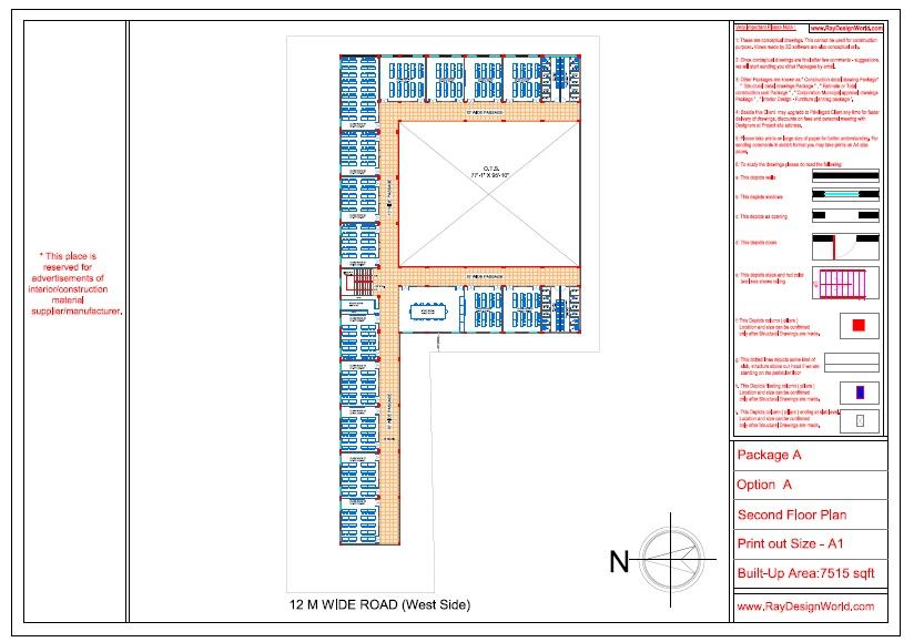 Mr. Ajay Kumar- Indarpur U.P-School- Second Floor Plan