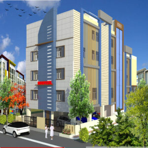 Mr.Aklilu Demissie-Washington US-Hospital-3D Exterior view-02