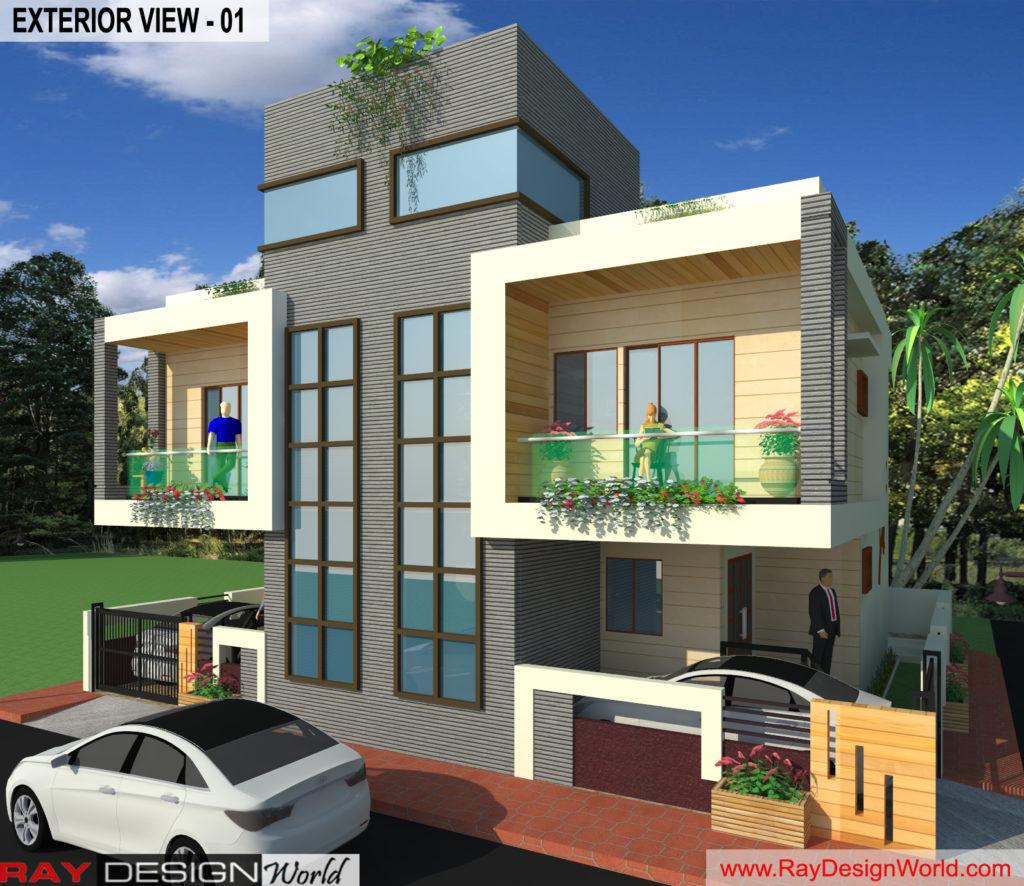 Mr. Arul-vengambakkam chennai-Bungalow-Exterior View- 01