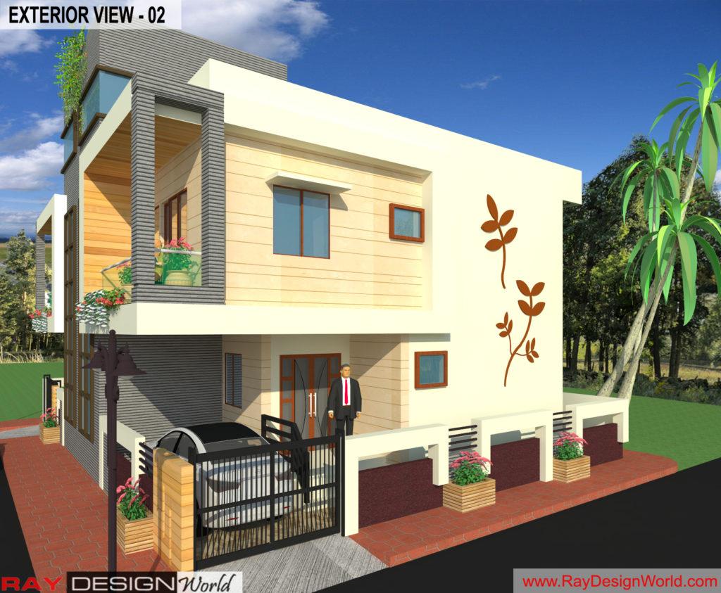 Mr. Arul-vengambakkam chennai-Bungalow-Exterior View- 02