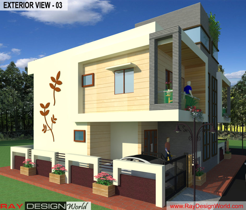 Mr. Arul-vengambakkam chennai-Bungalow-Exterior View- 03