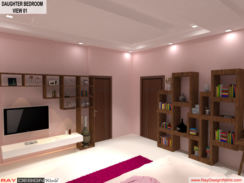 Mr.Amit Goyal-Neemuch-M.P-House interior-Daughter Room View 01
