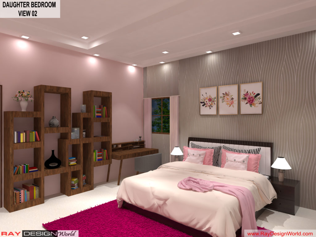 Mr.Amit Goyal-Neemuch-M.P-House interior-Daughter Room View 02