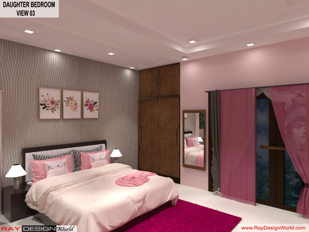 Mr.Amit Goyal-Neemuch-M.P-House interior-Daughter Room View 03