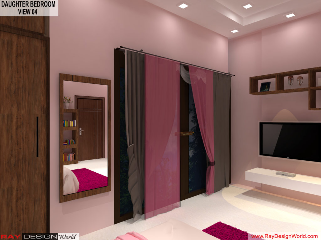 Mr.Amit Goyal-Neemuch-M.P-House interior-Daughter Room View 04
