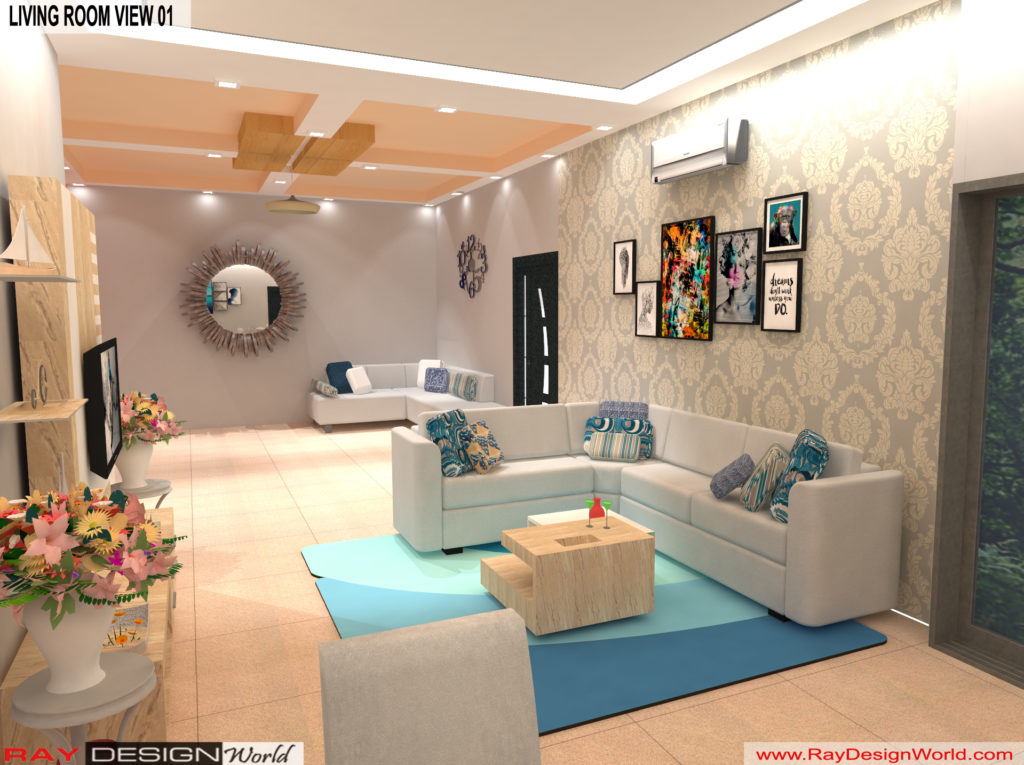 Mr.Amit Goyal-Neemuch-M.P-House interior-Living Room View 01