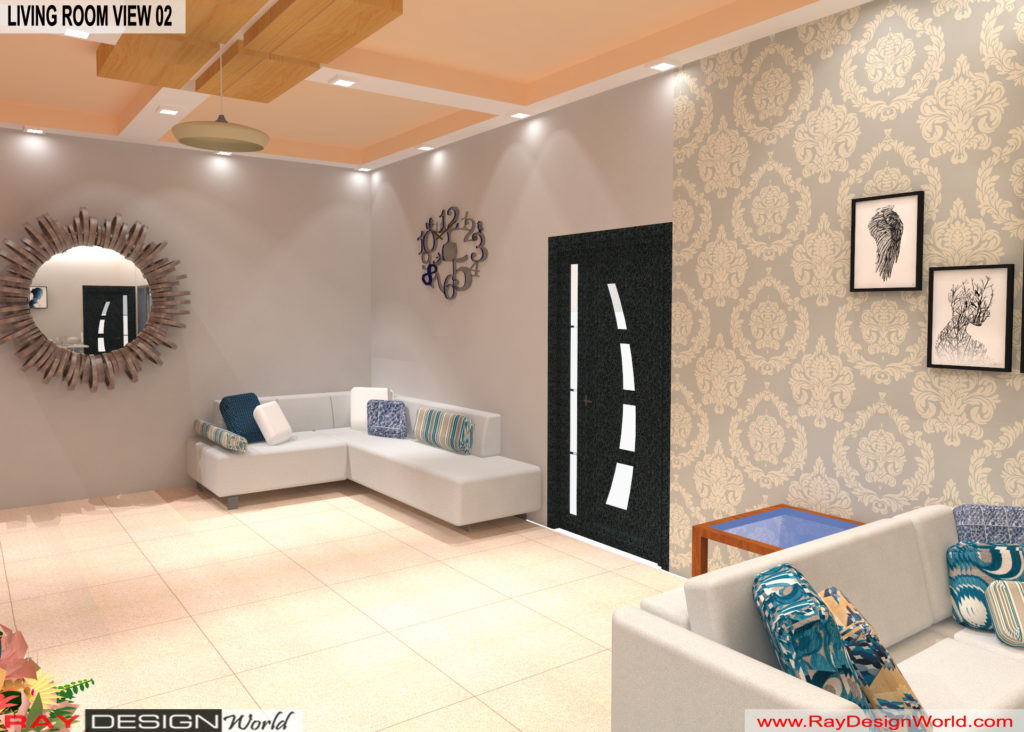 Mr.Amit Goyal-Neemuch-M.P-House interior-Living Room View 02