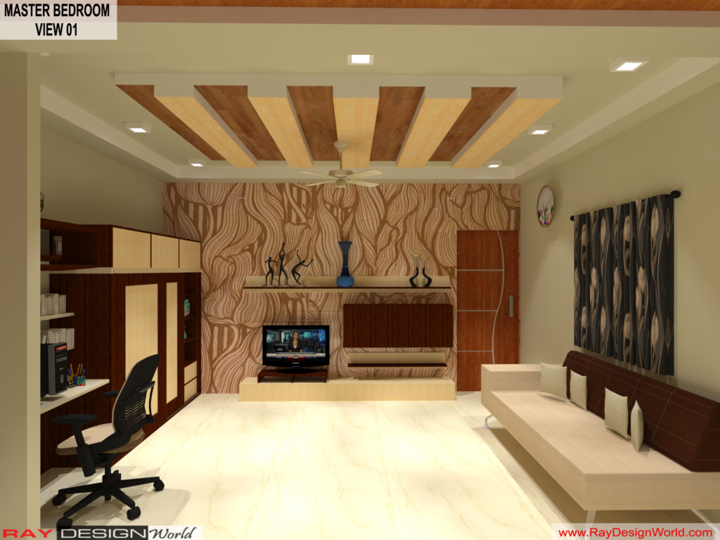 Mr.Amit Goyal-Neemuch-M.P-House interior-Master BedRoom View 01