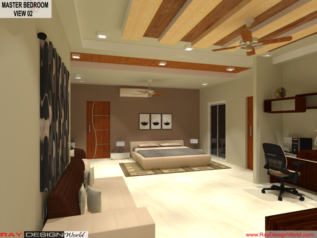 Mr.Amit Goyal-Neemuch-M.P-House interior-Master BedRoom View 02