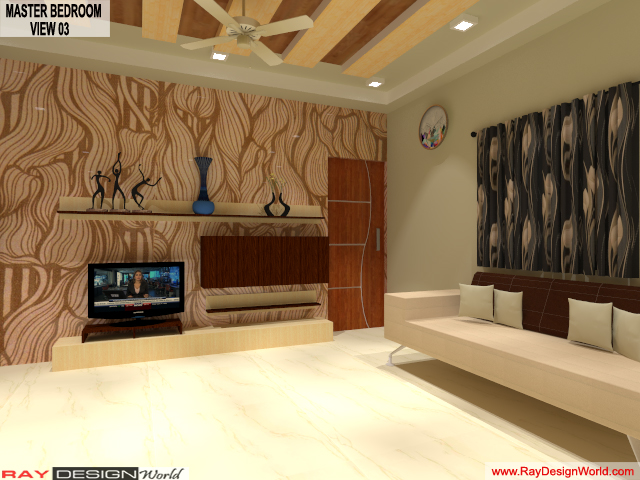 Mr.Amit Goyal-Neemuch-M.P-House interior-Master BedRoom View 03