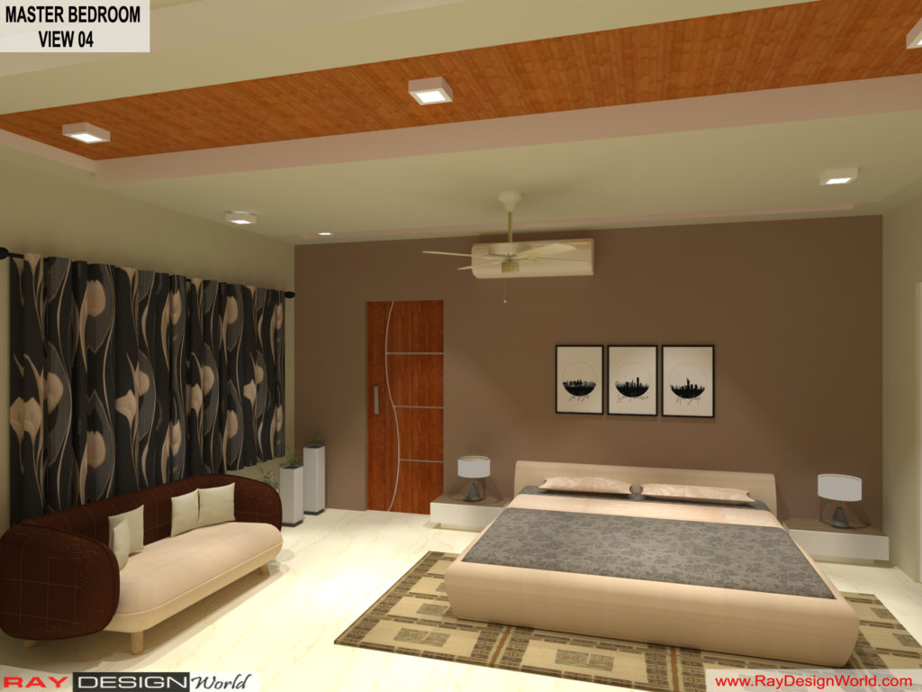Mr.Amit Goyal-Neemuch-M.P-House interior-Master BedRoom View 04