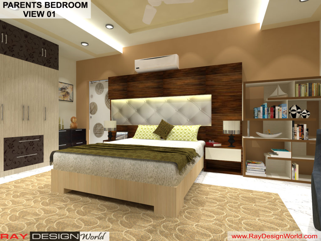 Mr.Amit Goyal -Neemuch M.P - House interior - Parents Bedroom View -01