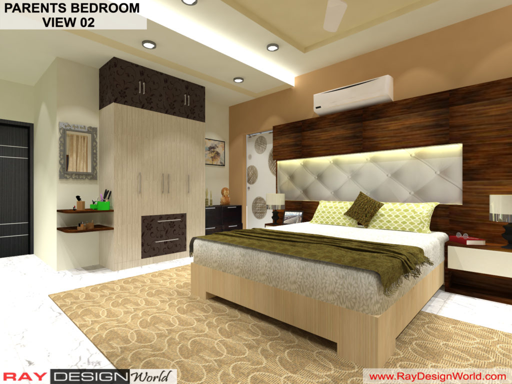 Mr.Amit Goyal -Neemuch M.P - House interior - Parents Bedroom View -02