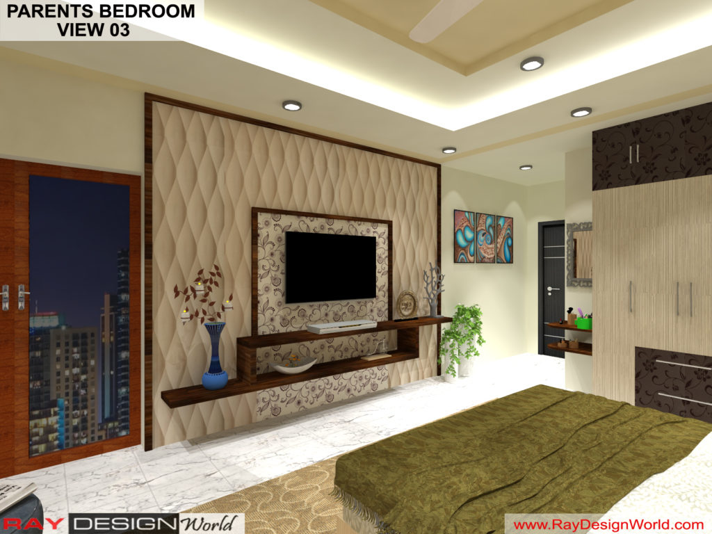 Mr.Amit Goyal -Neemuch M.P - House interior - Parents Bedroom View -03