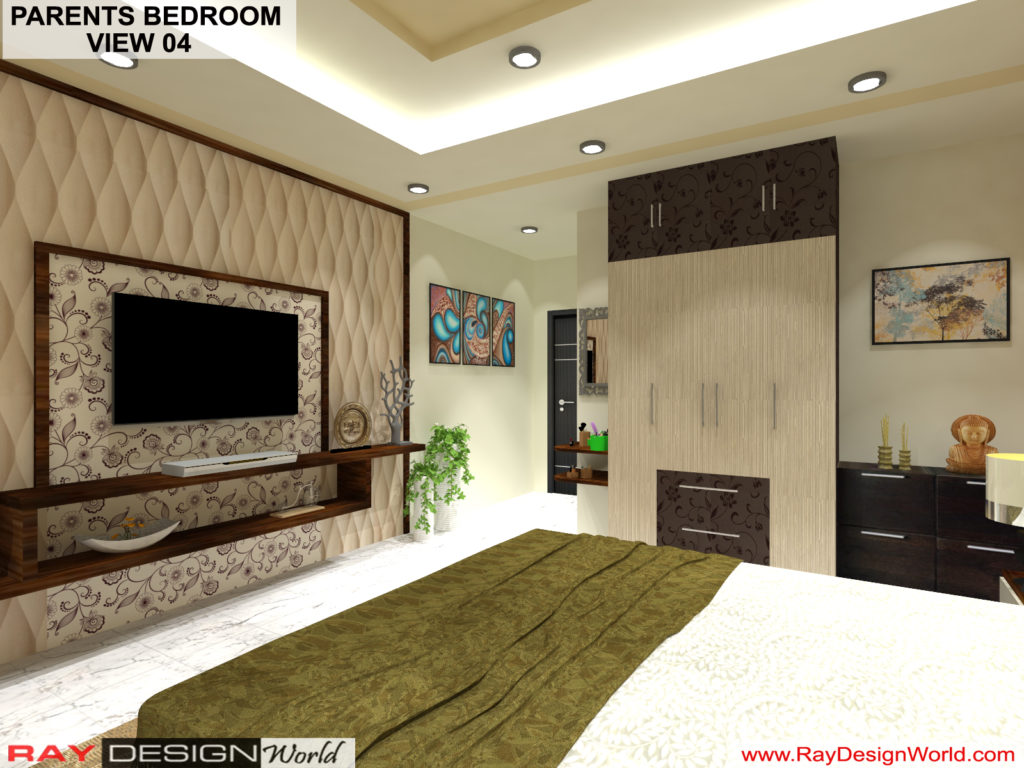 Mr.Amit Goyal -Neemuch M.P - House interior - Parents Bedroom View -04
