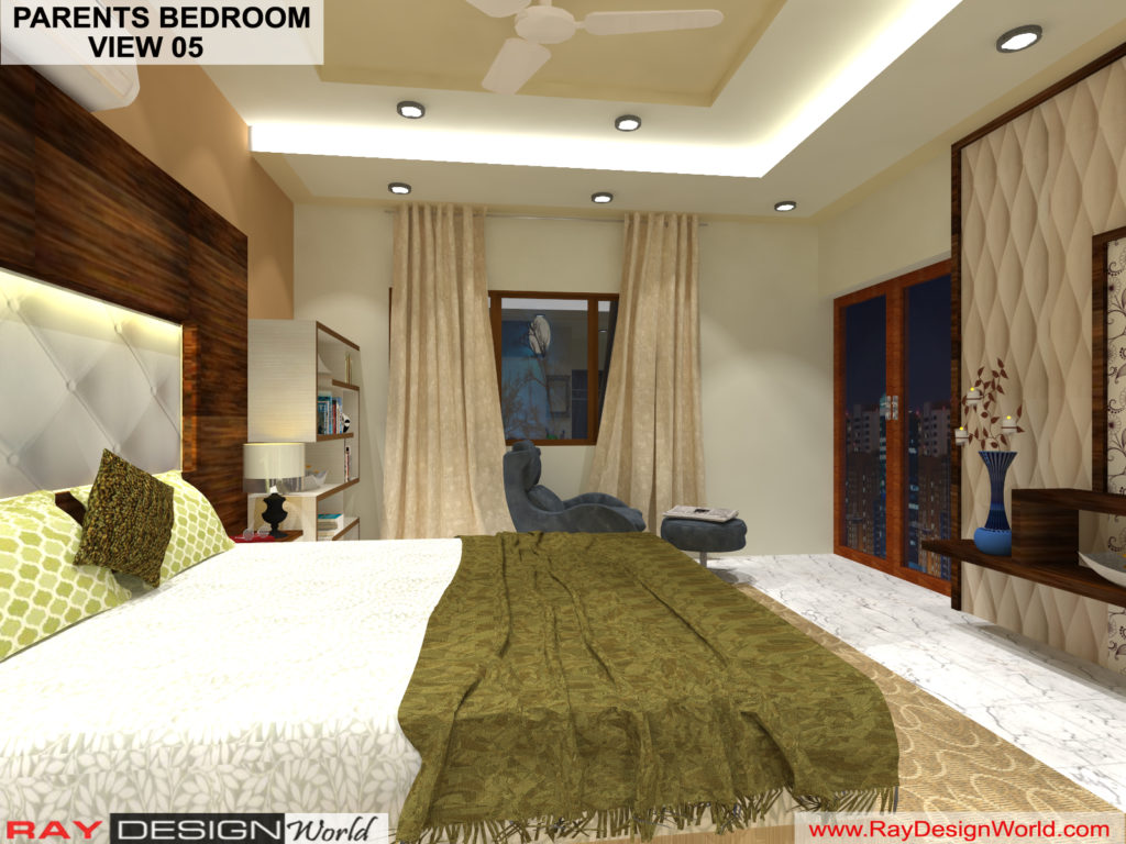 Mr.Amit Goyal -Neemuch M.P - House interior - Parents Bedroom View -05