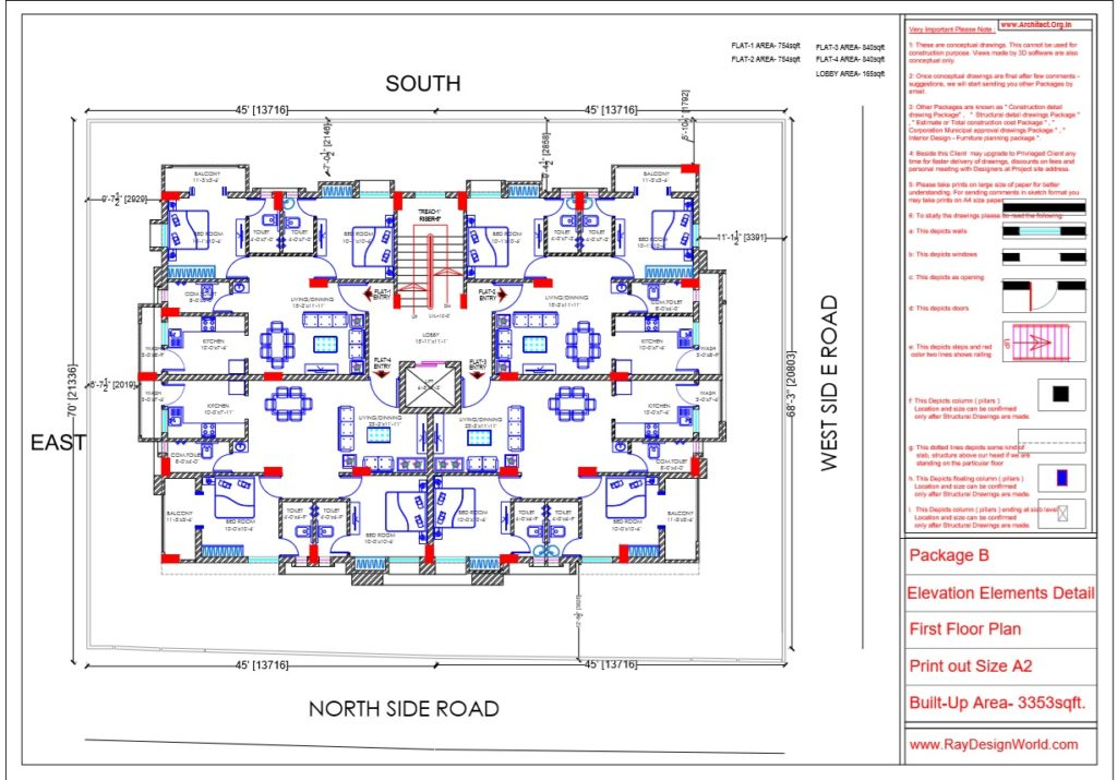 Mr.Arul-Madipakkam chennai-Apartment-First Floor plan-Package B