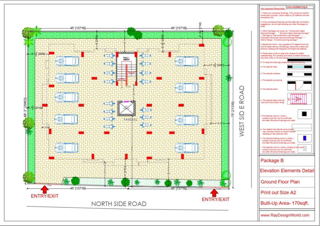Mr.Arul-Madipakkam chennai-Apartment-Ground Floor plan-Package B