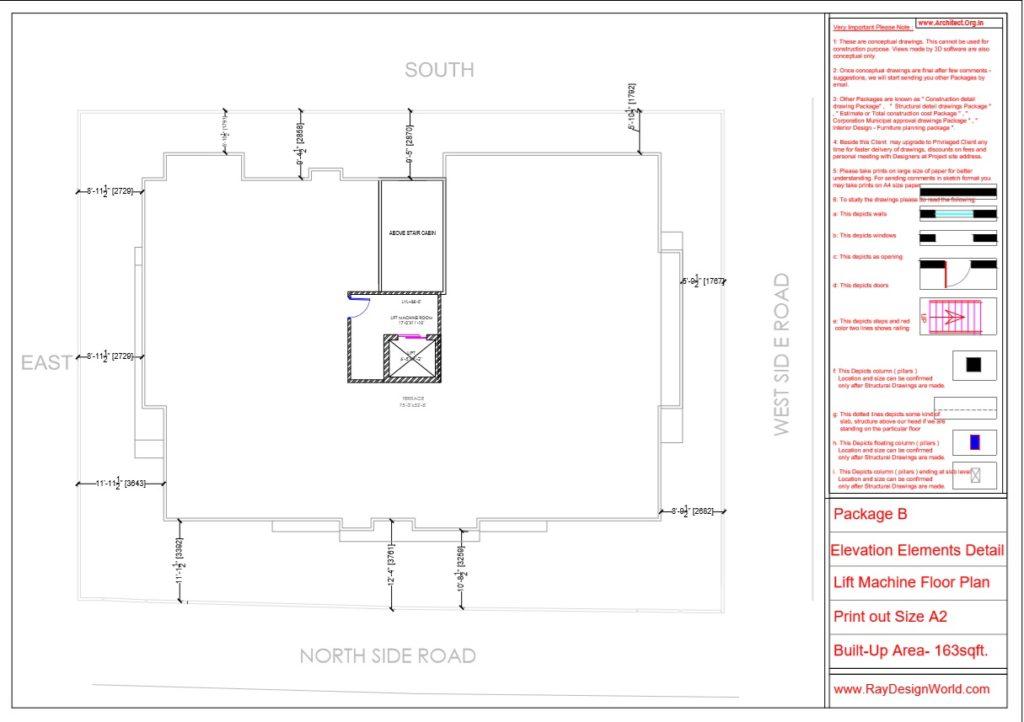 Mr.Arul-Madipakkam chennai-Apartment-Lift Machine Floor plan-Package B