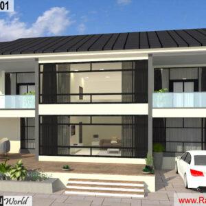 Mr.Austin Dias-Mangalore Karnataka-Bungalow-3D Exterior View-01
