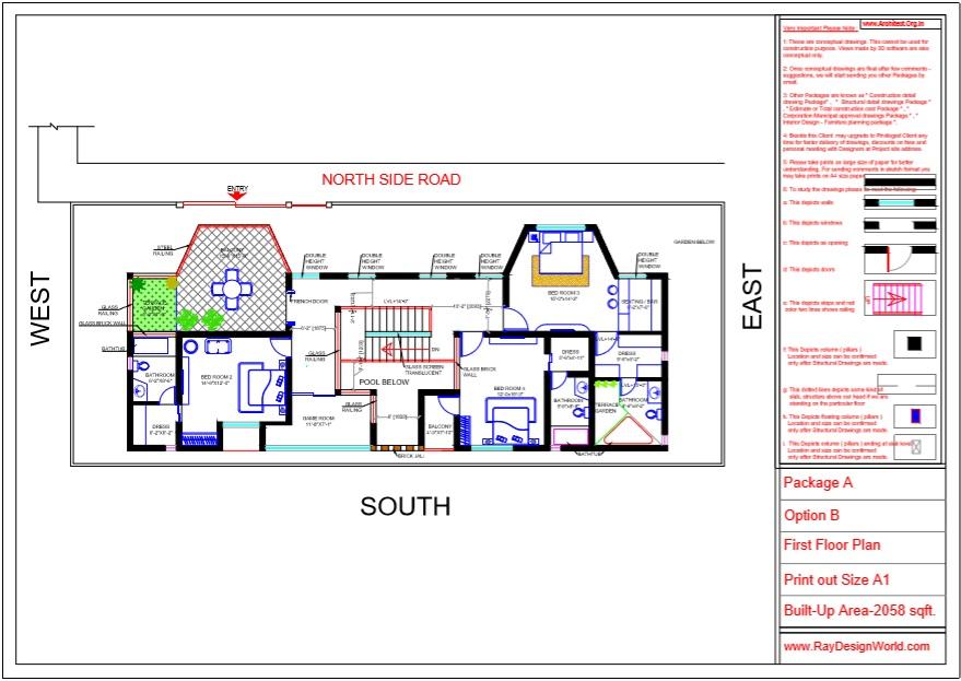 Mr.Austin Dias-Mangalore Karnataka-Bungalow-First Floor Plan