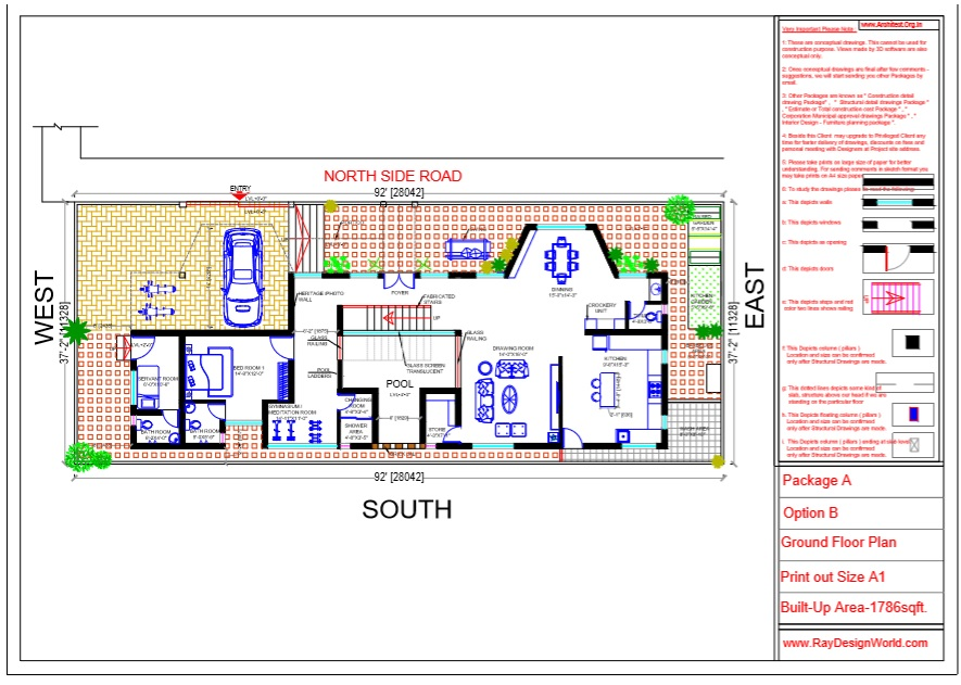 Mr.Austin Dias-Mangalore Karnataka-Bungalow-Ground Floor Plan