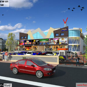 Mr.Bichitra Patnaik-NH 16 Brahmapur Odisha-Pro-D-Multiplex Shopping Complex-3D Exterior view-02