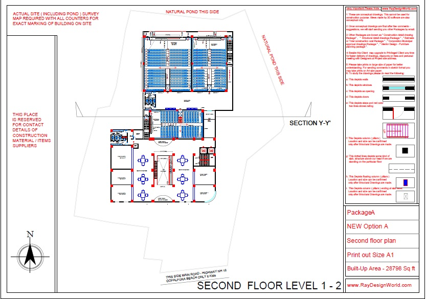 Mr.Bichitra Patnaik-NH 16 Brahmapur Odisha-Pro-D-Multiplex Shopping Complex Second Floor plan