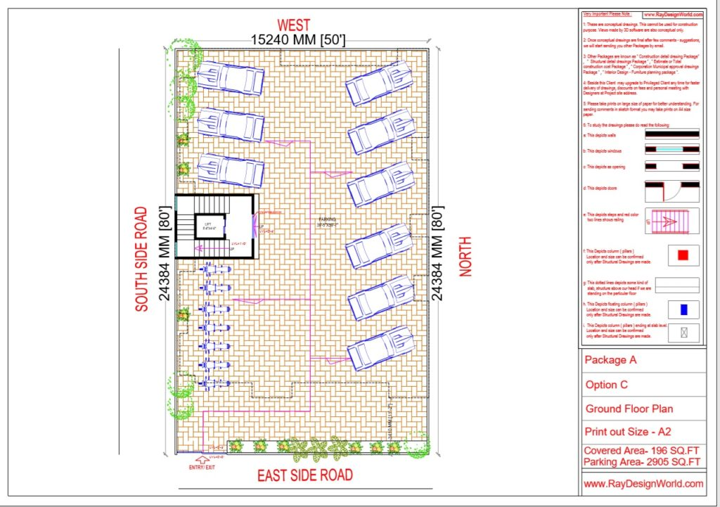 Mr.Narendra Kumar Tripathi-Lucknow Up-Apartment-Ground Floor Plan