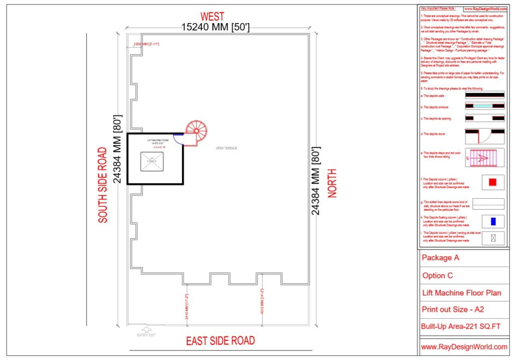Mr.Narendra Kumar Tripathi-Lucknow Up-Apartment-Lift Machine Floor Plan