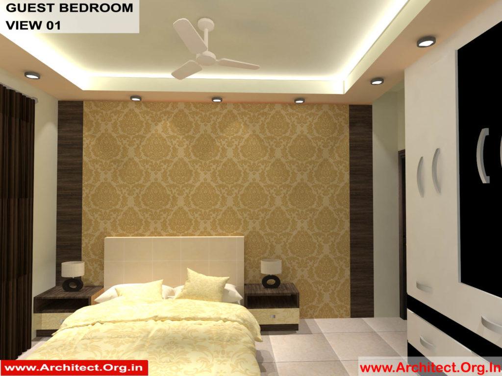 Mr.Pankaj Singhania-FR-Ms.Rakhi Singhania-Nagpur Maharashtra-House Interior-Bedroom-1 view-01