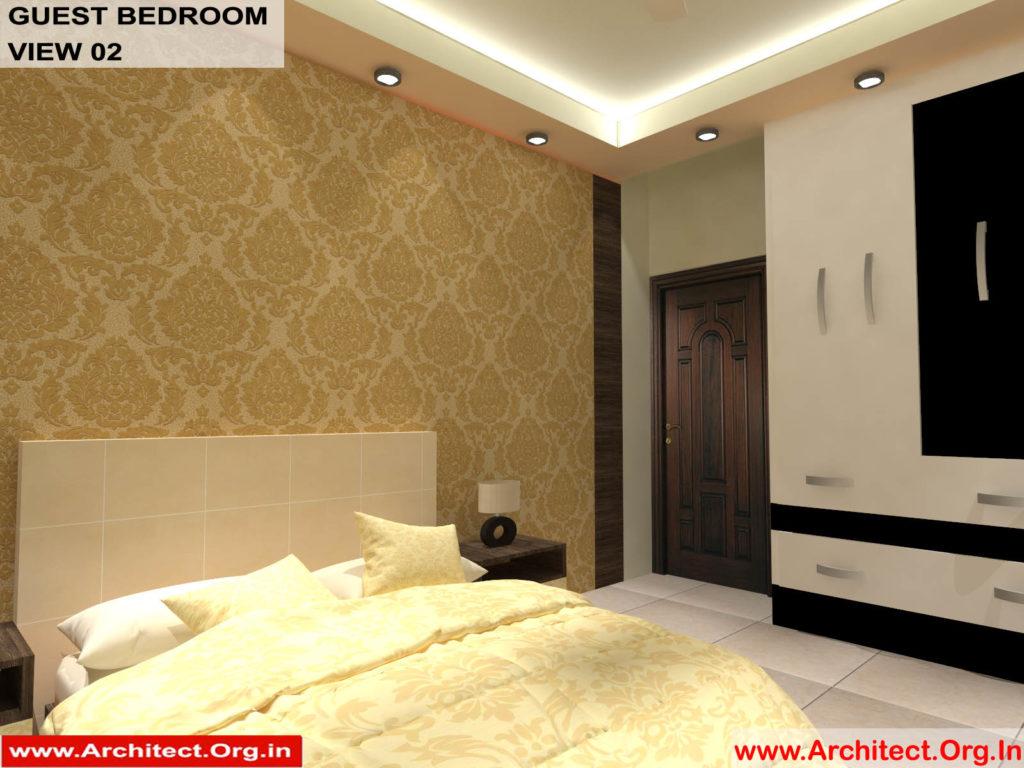 Mr.Pankaj Singhania-FR-Ms.Rakhi Singhania-Nagpur Maharashtra-House Interior-Bedroom-1 view-02