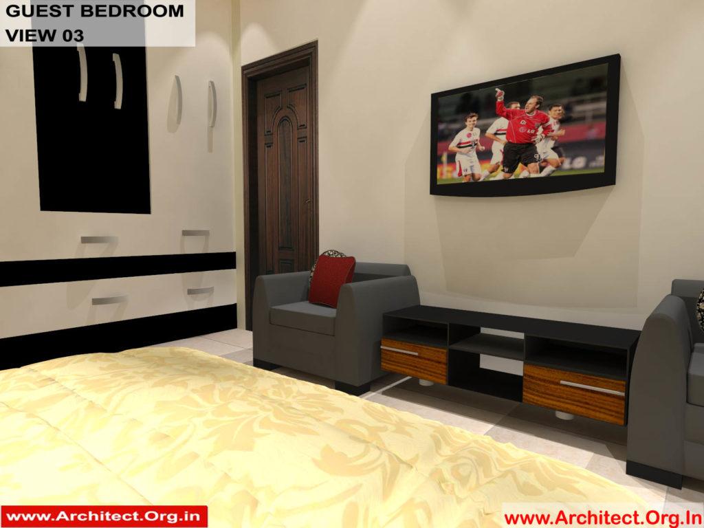 Mr.Pankaj Singhania-FR-Ms.Rakhi Singhania-Nagpur Maharashtra-House Interior-Bedroom-1 view-03