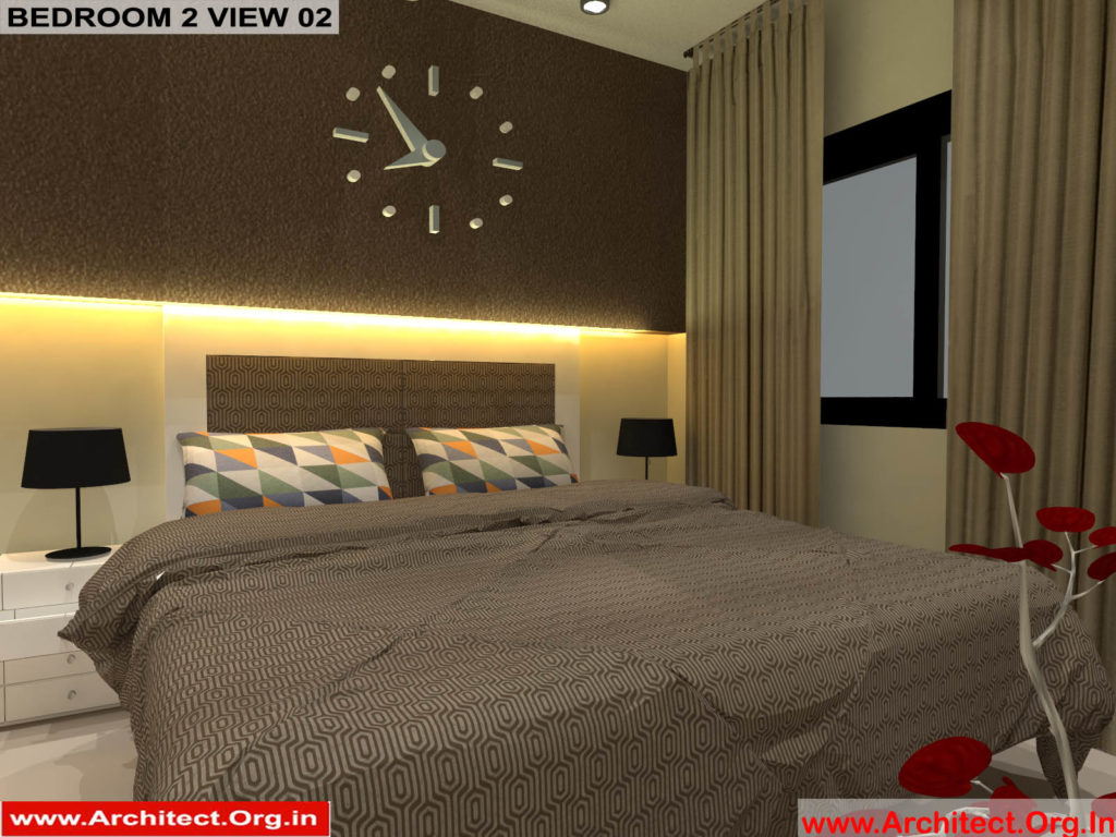 Mr.Pankaj Singhania-FR-Ms.Rakhi Singhania-Nagpur Maharashtra-House Interior-Bedroom-2 view-02