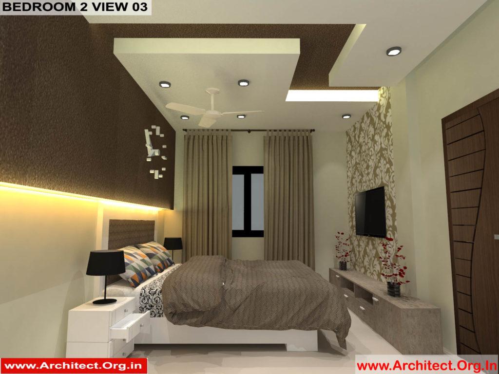 Mr.Pankaj Singhania-FR-Ms.Rakhi Singhania-Nagpur Maharashtra-House Interior-Bedroom-2 view-03