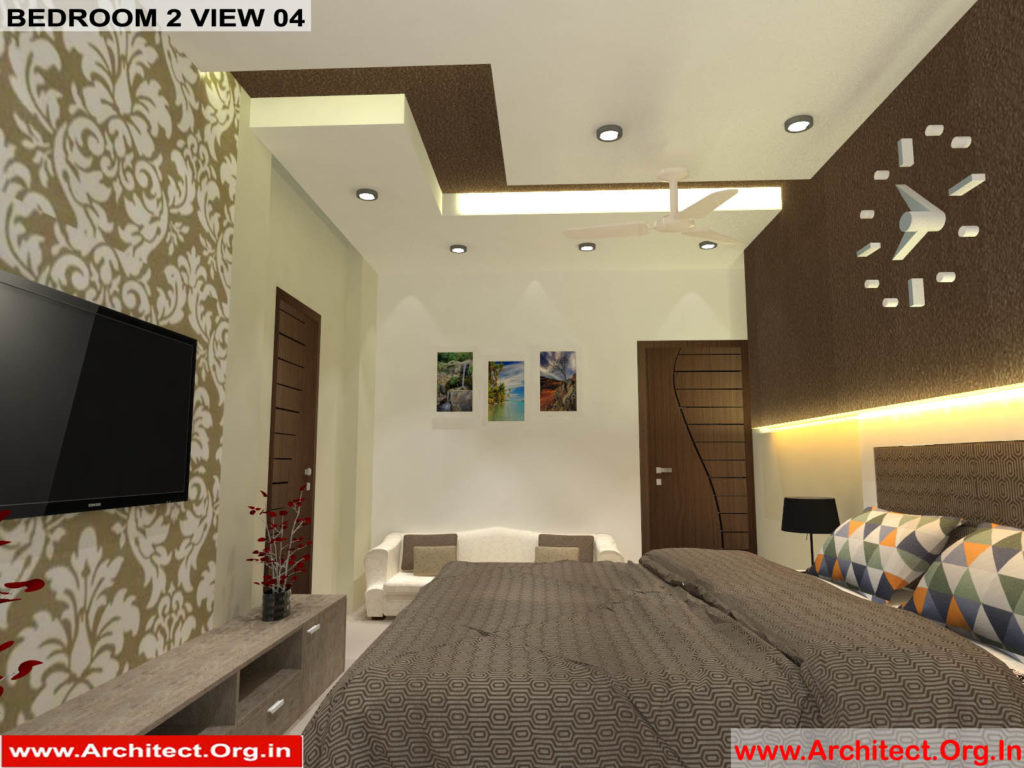 Mr.Pankaj Singhania-FR-Ms.Rakhi Singhania-Nagpur Maharashtra-House Interior-Bedroom-2 view-04