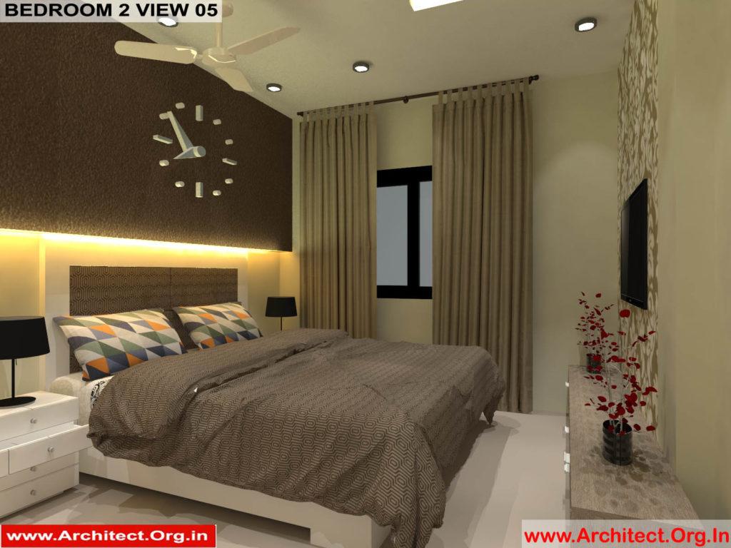 Mr.Pankaj Singhania-FR-Ms.Rakhi Singhania-Nagpur Maharashtra-House Interior-Bedroom-2-view-05