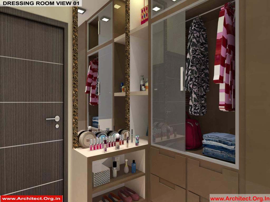 Mr.Pankaj Singhania-FR-Ms.Rakhi Singhania-Nagpur Maharashtra-House Interior-Dress room-1-view-01