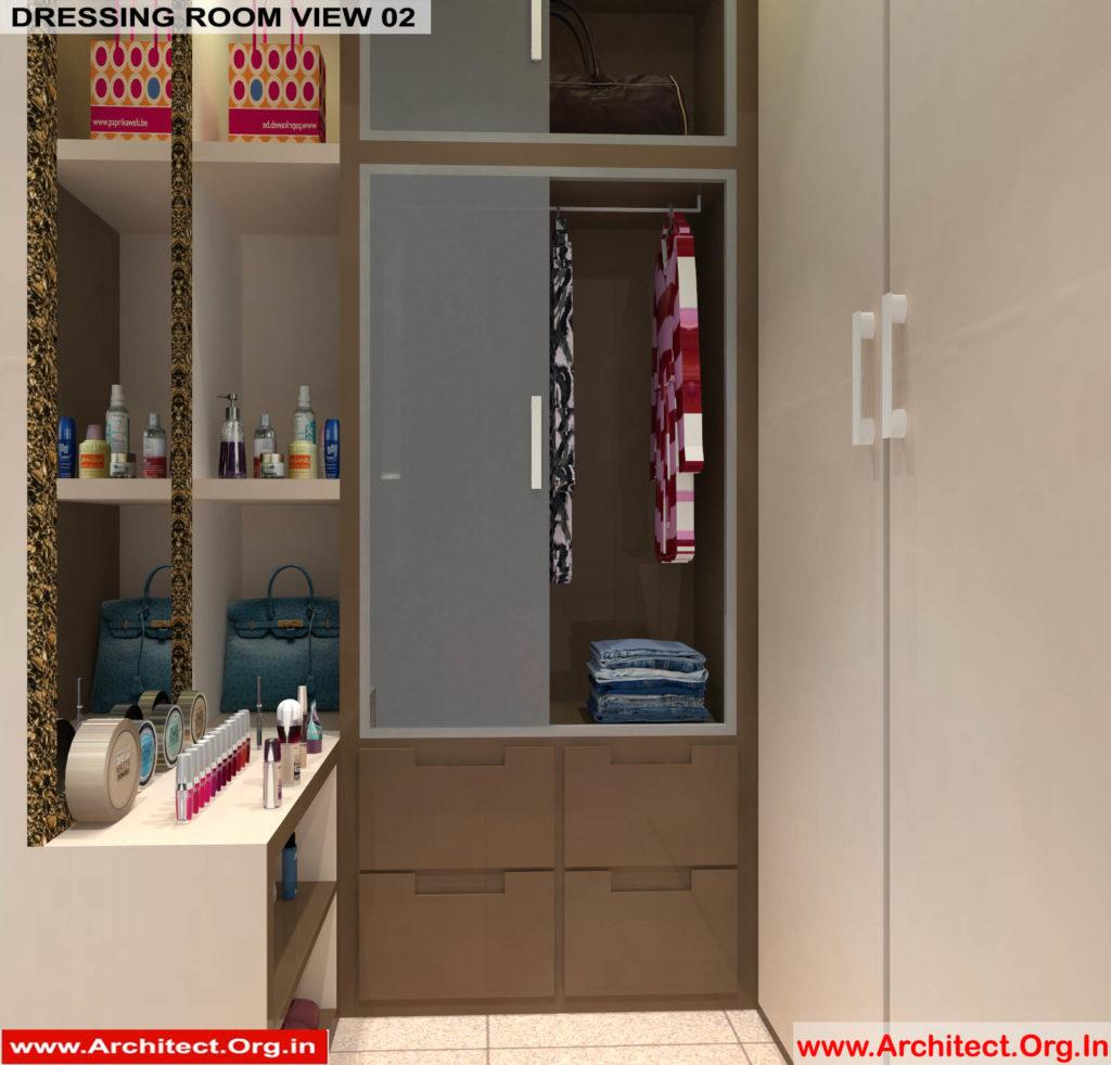 Mr.Pankaj Singhania-FR-Ms.Rakhi Singhania-Nagpur Maharashtra-House Interior-Dress room-1-view-02