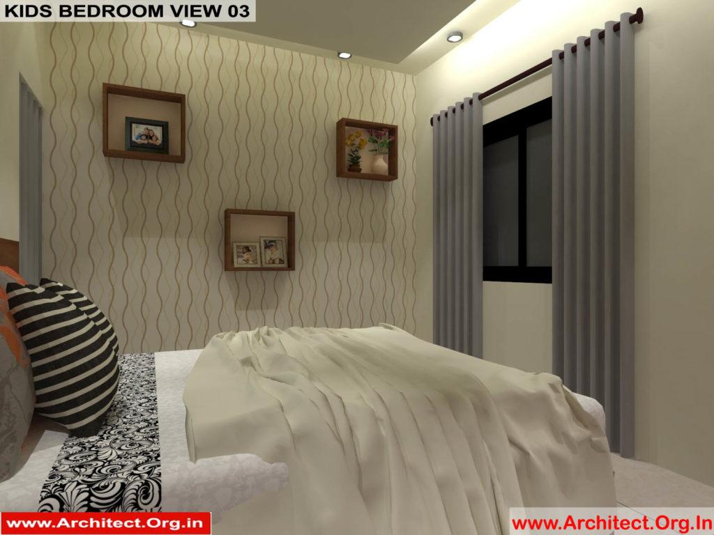 Mr.Pankaj Singhania-FR-Ms.Rakhi Singhania-Nagpur Maharashtra-House Interior-Kids bedroom-view-03