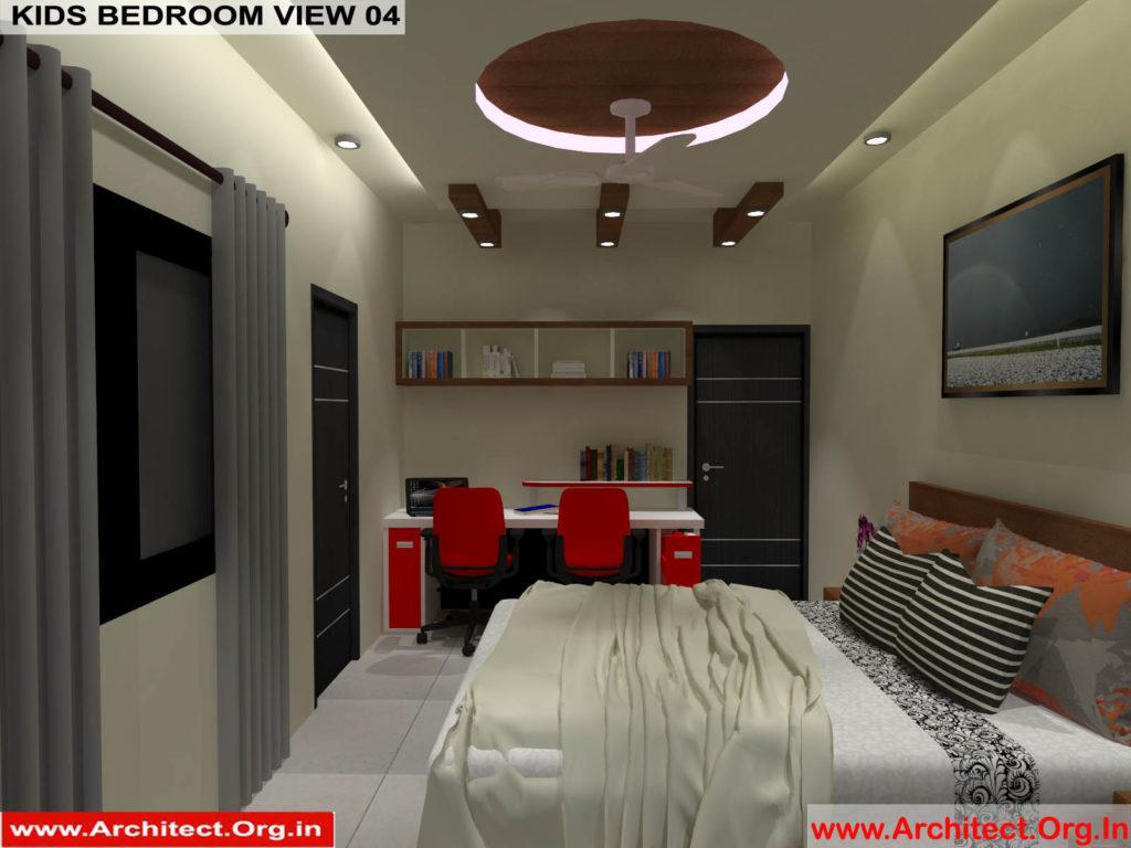 Mr.Pankaj Singhania-FR-Ms.Rakhi Singhania-Nagpur Maharashtra-House Interior-Kids bedroom-view-04