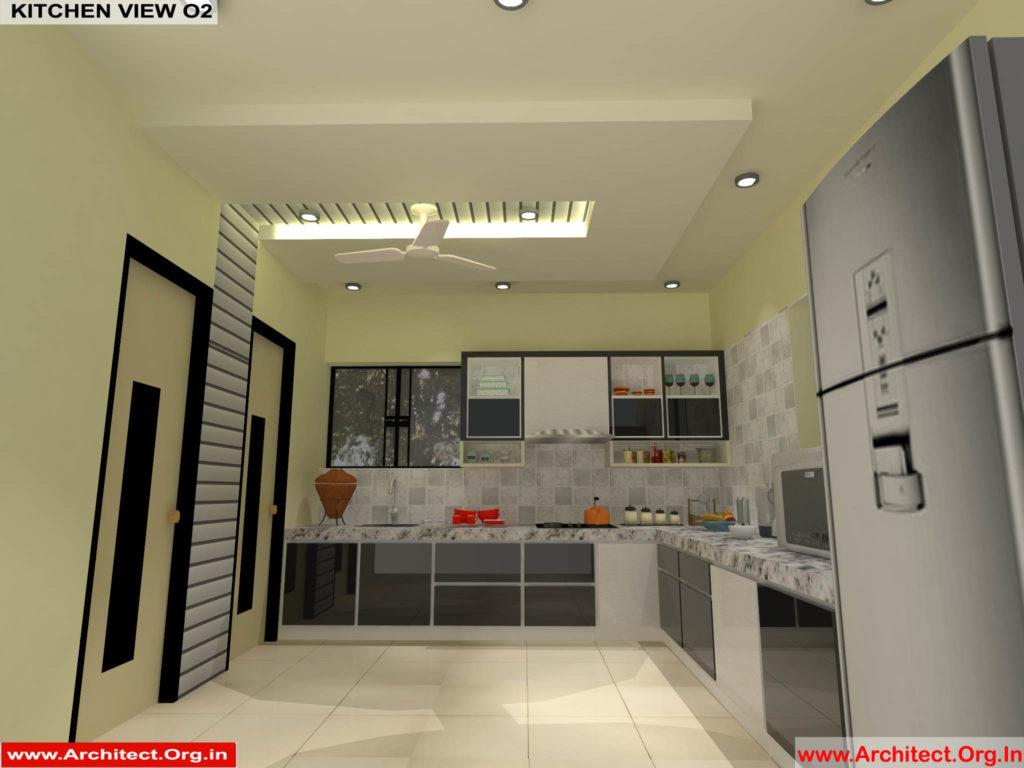 Mr.Pankaj Singhania-FR-Ms.Rakhi Singhania-Nagpur Maharashtra-House Interior-Kitchen-View-02