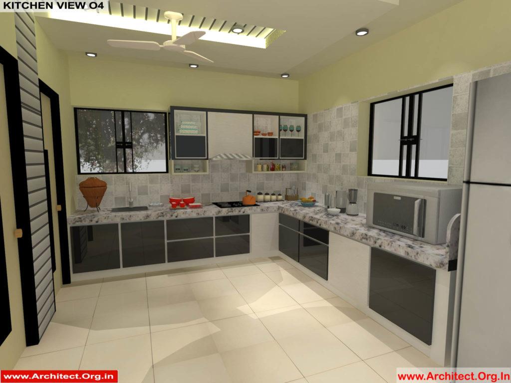 Mr.Pankaj Singhania-FR-Ms.Rakhi Singhania-Nagpur Maharashtra-House Interior-Kitchen-View-04