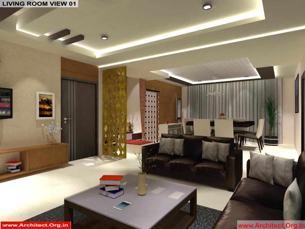 Mr.Pankaj Singhania-FR-Ms.Rakhi Singhania-Nagpur Maharashtra-House Interior-Living room-view-01