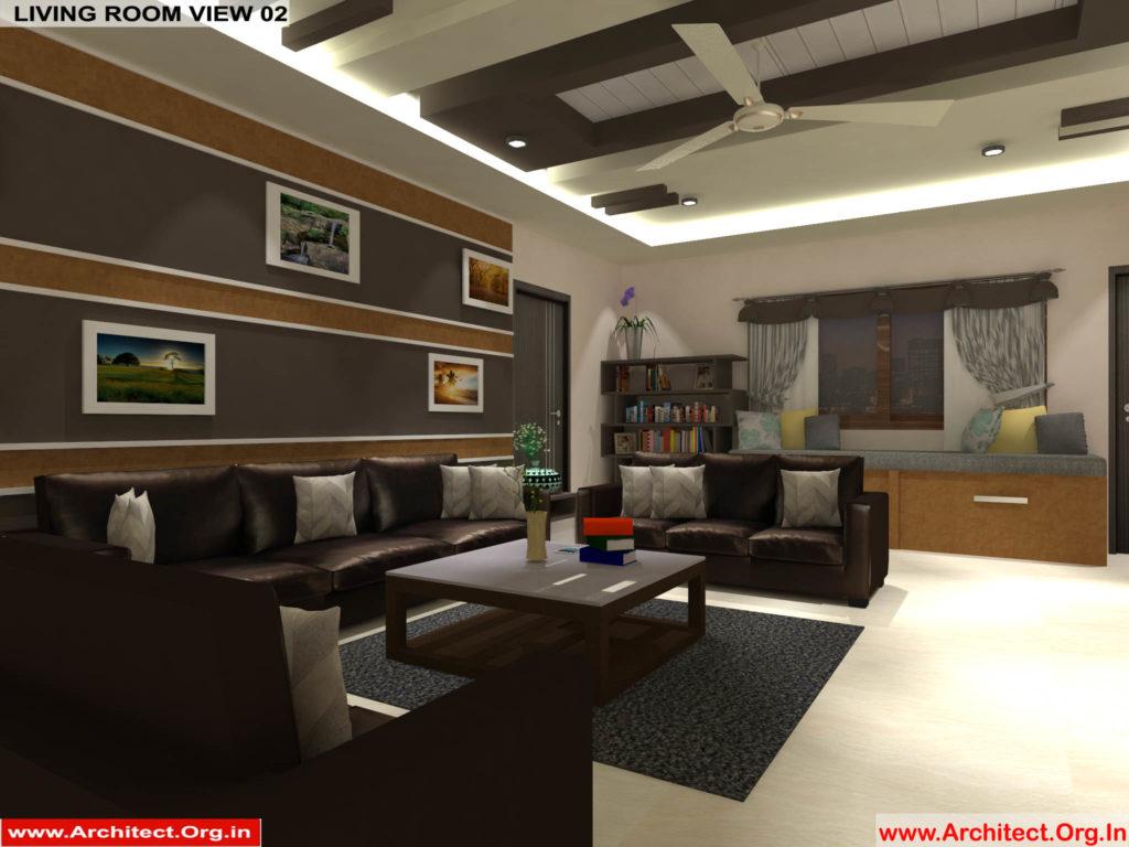 Mr.Pankaj Singhania-FR-Ms.Rakhi Singhania-Nagpur Maharashtra-House Interior-Living room-view-02