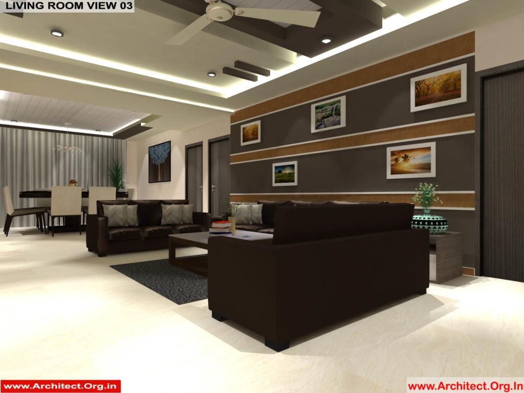 Mr.Pankaj Singhania-FR-Ms.Rakhi Singhania-Nagpur Maharashtra-House Interior-Living room-view-03
