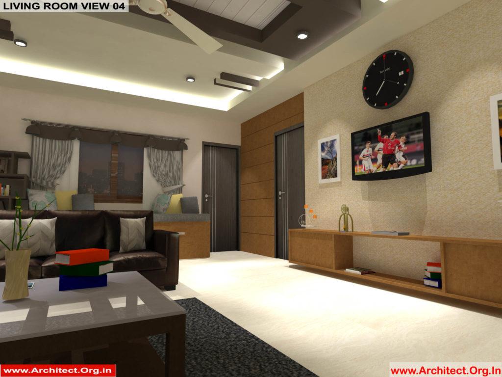 Mr.Pankaj Singhania-FR-Ms.Rakhi Singhania-Nagpur Maharashtra-House Interior-Living room-view-04